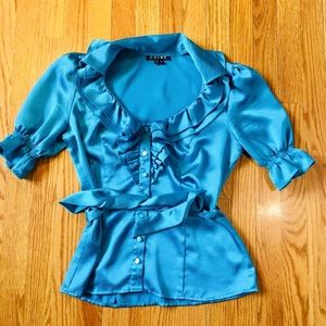 OMG Sexy Blouse Chime Ladies Size Small